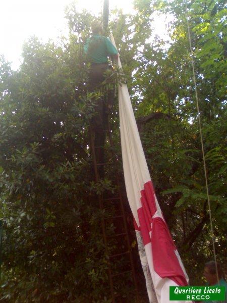 Ammaina bandiera 2007 (foto C. Guglieri)