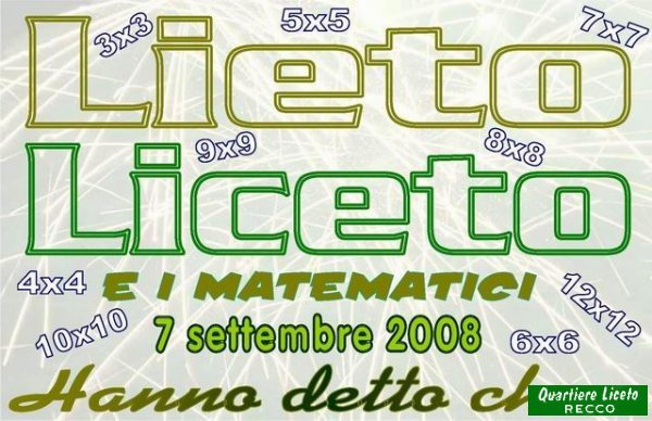 Lieto & Liceto 2008