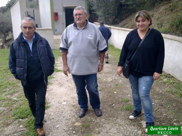 Inizia la visita guidata (foto C. Guglieri)