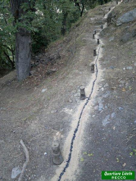 Sparata dell'alzabandiera (foto C. Guglieri)