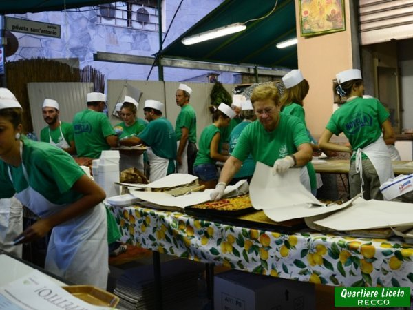 Stand gastronomico 2013 (foto P. Valente)