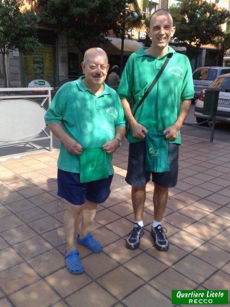 Tonino e Alessandro (foto C. Guglieri)
