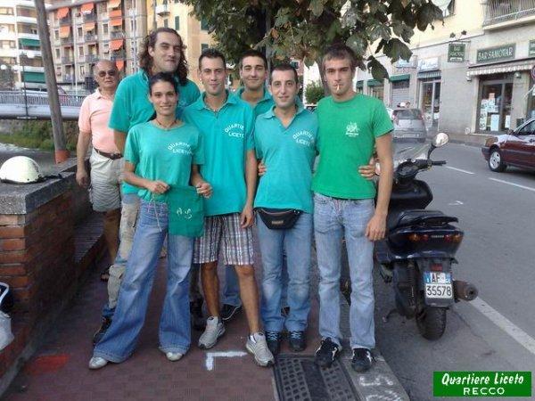 Furio, Michela, Gimpy, Simone, Roberto & Stefano (foto C. Guglieri)